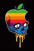 logo-apple-teschio-arcobaleno